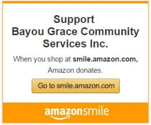 Bayou Grace Amazon Smiles